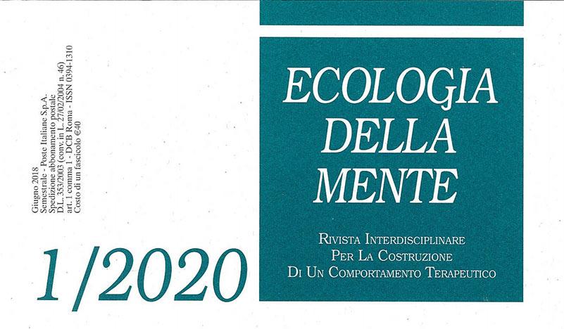 Ecologia della Mente, cover del numero 1-2020