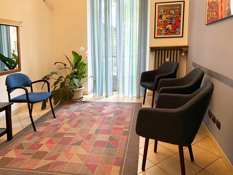 Una sala dell' Istituto di Terapia Familiare Emmeci