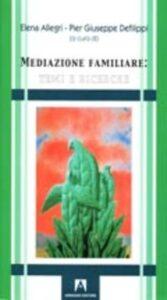 Cover libro Mediazione familiare
