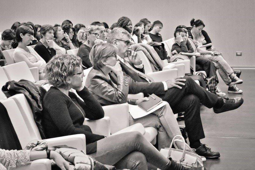 Spettatori ad un seminario